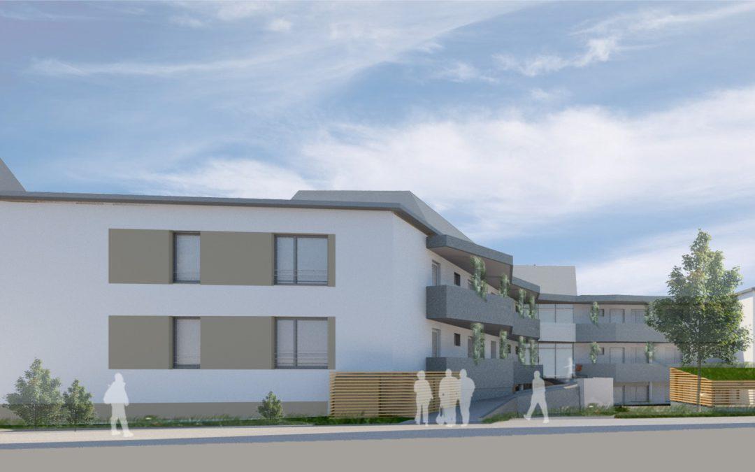 Eines der ersten seniorengerechten Häuser mit Passivhaus-Komponenten entsteht in Haltern am See