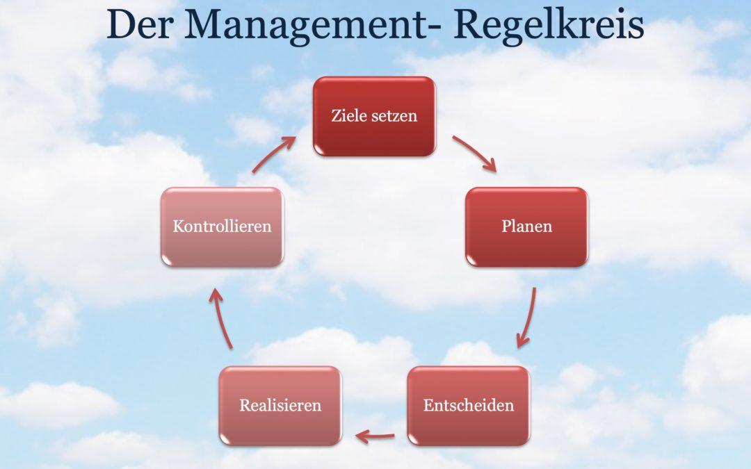 Der Management Regelkreis - Grafik: Eckardt