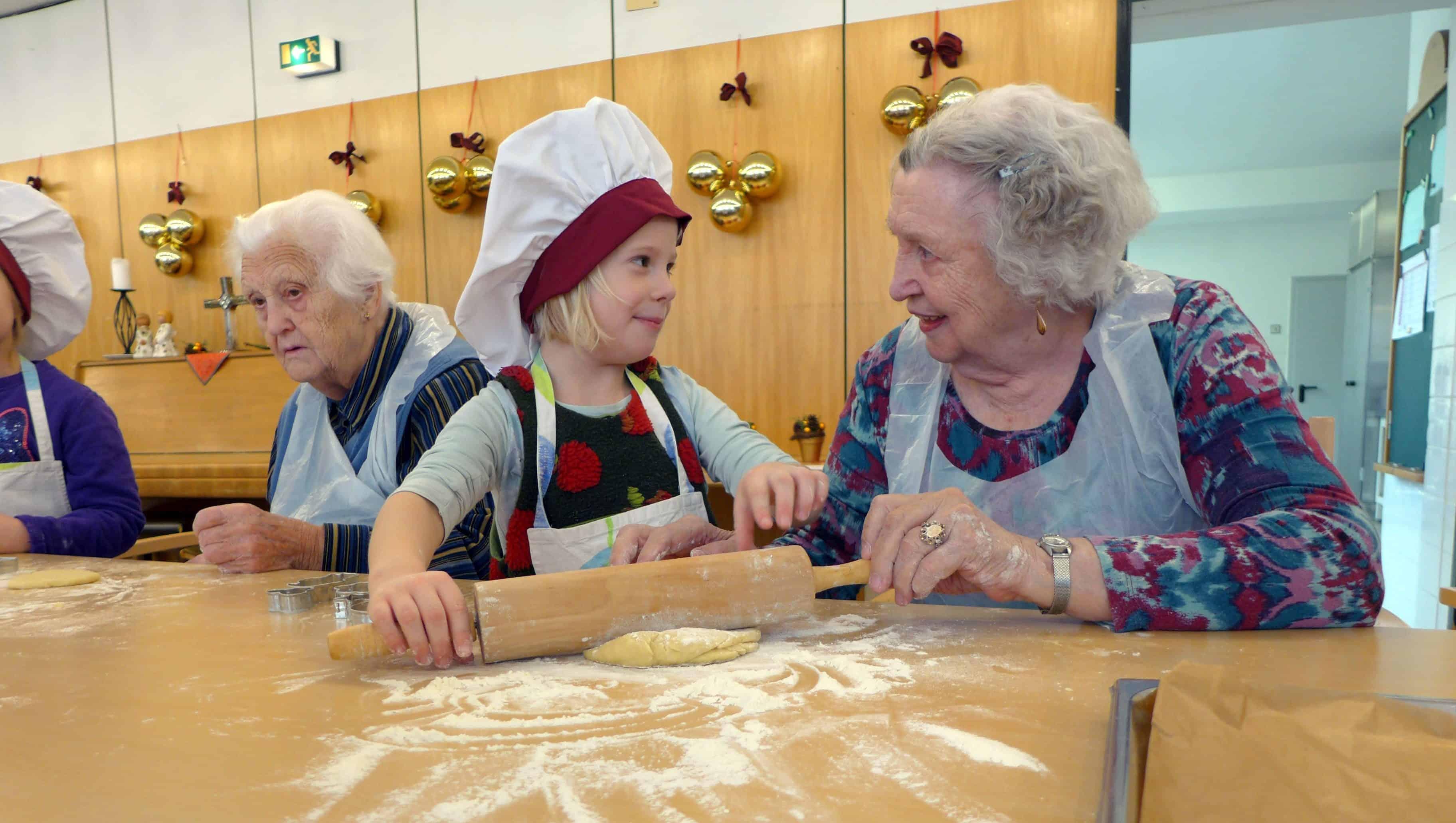 Dorfner Catering sorgt mit Aktionen für Abwechslung im Heim-Alltag - Foto: Dorfner Catering