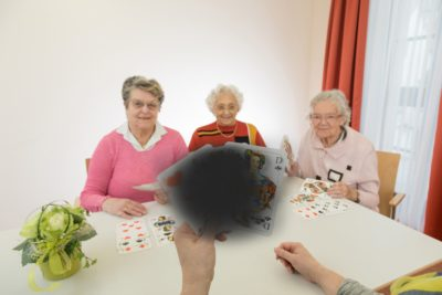 Bei der Altersbedingten Makuladegeneration ist das zentrale Sehen eingeschränkt. Foto: Manuel Reger - Bildrecht: Blindeninstitutsstiftung