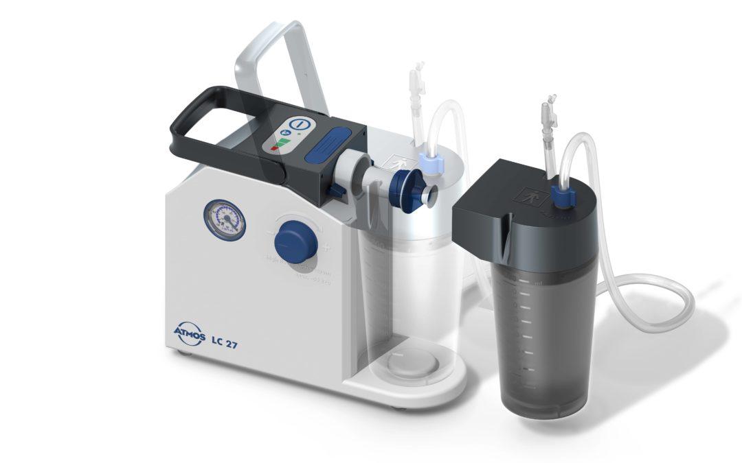 Neuer Atmos Atemwegssauger für den Homecare-Bereich