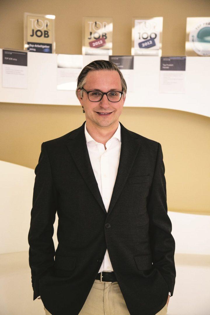Kaffee Partner Benny Prehn (37), Leiter Produktmanagement bei Kaffee Partner.