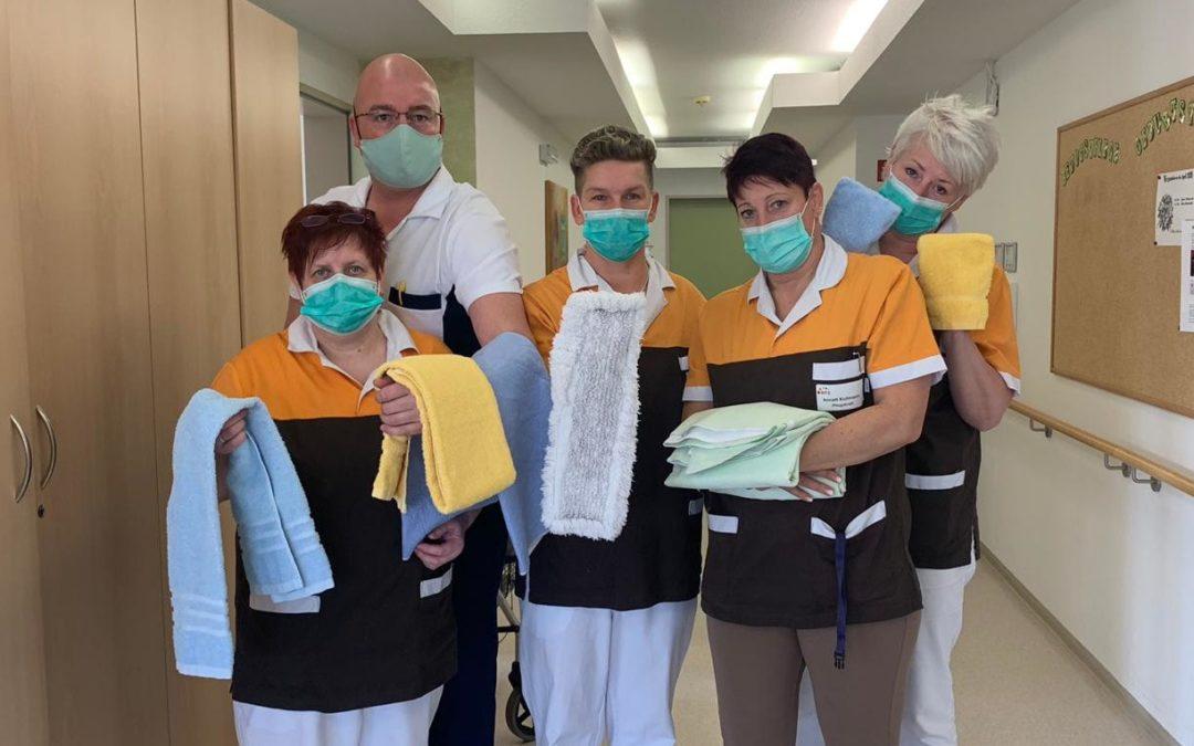 Hygienische Wäsche für Krankenhäuser - Für die Politik nicht systemrelevant!