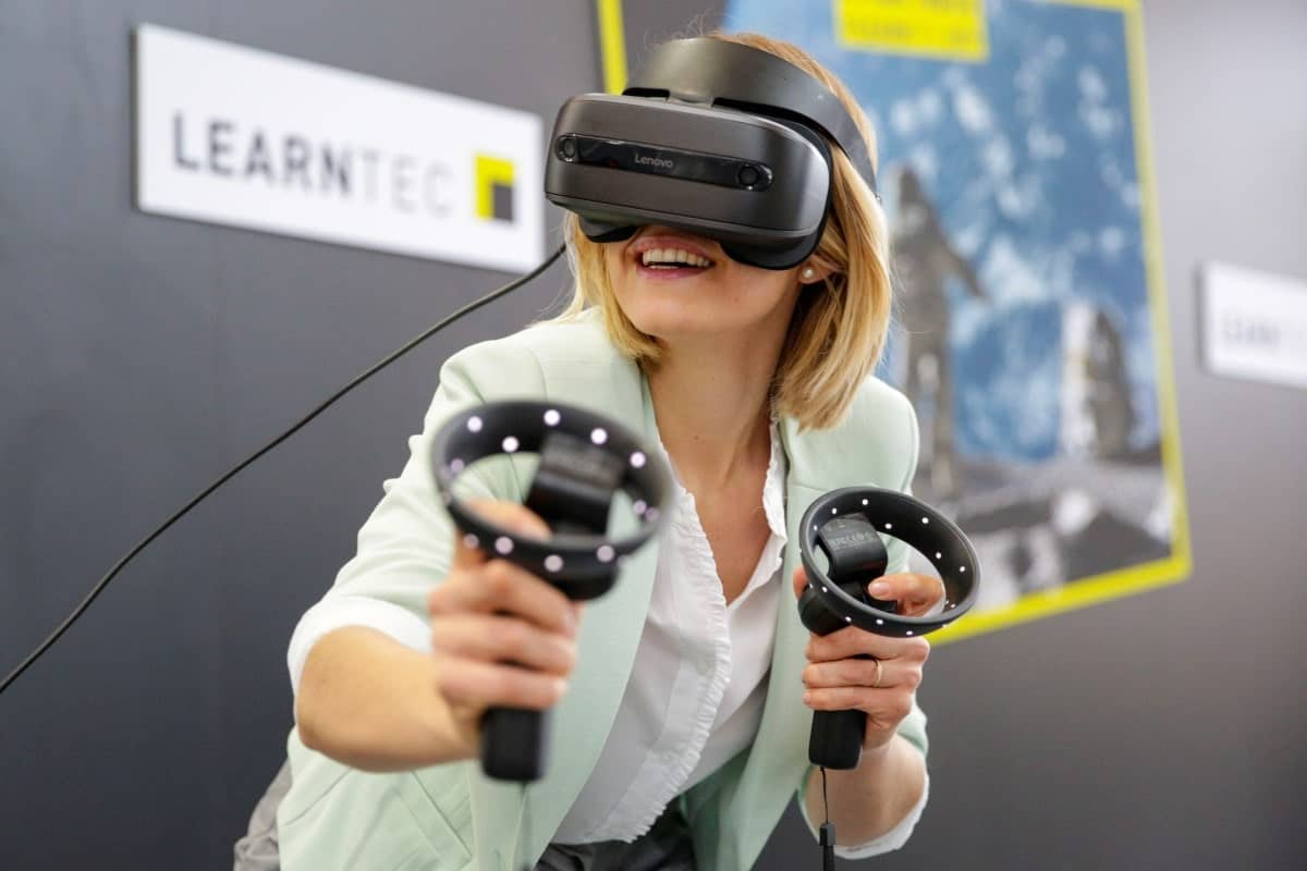 VR Anwendung Learntec - Foto: MesseKarlsruhe-JürgenRösner