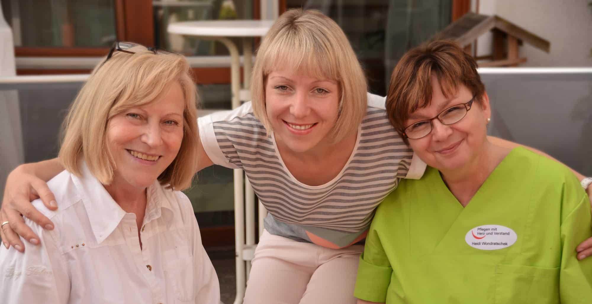 Die Pflegebranche profitiert von Quereinsteigern - Foto: WGfS