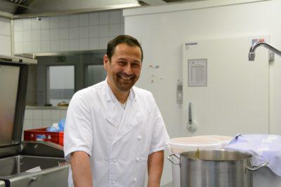Küchenleiter Magnus Kimmel